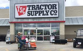 tractor supply co outside store view