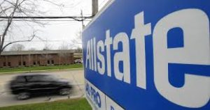 Allstate Sign on building