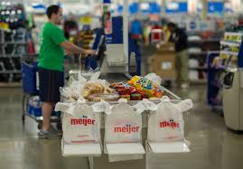 Meijer Checkout LIne