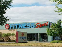 24 Hour fitness gym store front