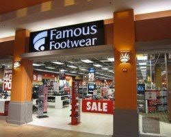 Famous Footwear Store Front