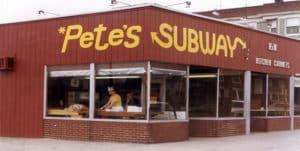 Old Subway Storefront