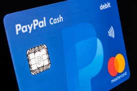 Paypal debit card