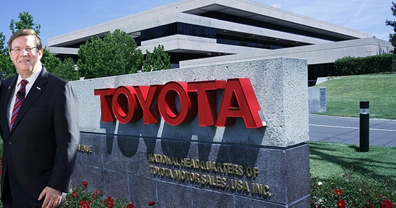 TORRANCE, CA-APRIL 27, 2014: Toyota National headquarters in Torance on April 27, 2014. (Photo by Anne Cusack/Los Angeles Times via Getty Images)
