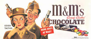 Mars advertising WWII