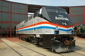 Amtrak Train Front View