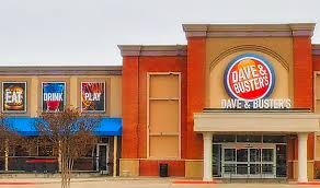 dave and busters store front