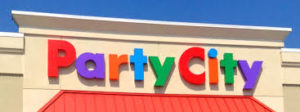 party city sign