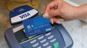 visa and credit card reader