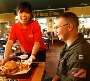 070620-F-5435R-002 Chili's Too opened June 18 at Kadena Air Base, Japan. The base hosts one of the busiest Chili's resturants in the world. Chili's Too is a smaller scale restaurant serving the same quality of food as the main restaurant, but faster. (U.S. Air Force photo by Staff Sgt. Reynaldo Ramon)