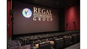 Regal Logo on screen