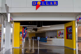 Dollar Rent a car store front