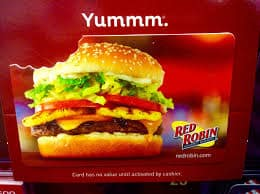 Red Robin Gift Card 2
