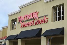 Homegoods and TJ Maxx store front