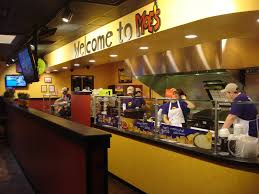 Moe's Southwest Grill Interior