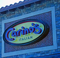 Carino's outdoor sign