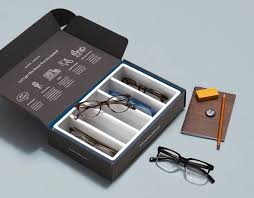Warby Parker box of frames