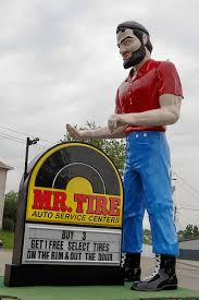 mr. Tire Sign