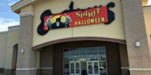 Spirit Halloween Store Front