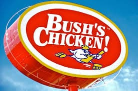 Bush's Chicken Sign