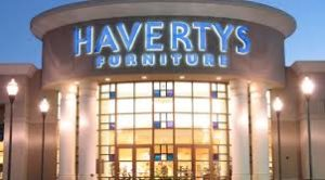 Havertys Furniture store front