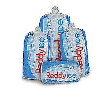 Packages of Reddy Ice