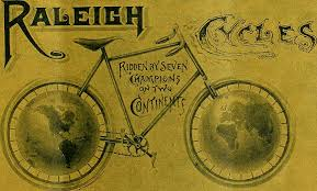 Raleigh bicycle old ad