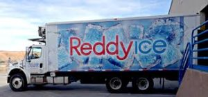 Reddy Ice Delivery Truck
