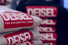 Diesel Logo with Jeans