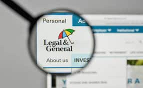 Legal and General website screen shot