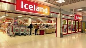 iceland supermarket store front