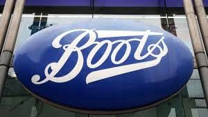Boots store sign