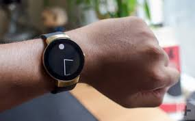 movado watch on arm