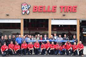 Belle tire store front